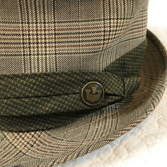 Goorin Bros Other - Goorin Bros Green and Tan Used Fedora